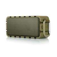 Wodoodporny głośnik Bluetooth przenośne głośniki bezprzewodowe głośniki subwoofer karty na zewnątrz niebieski ząb pełny zakres soundbar głośnik wysokotonowy