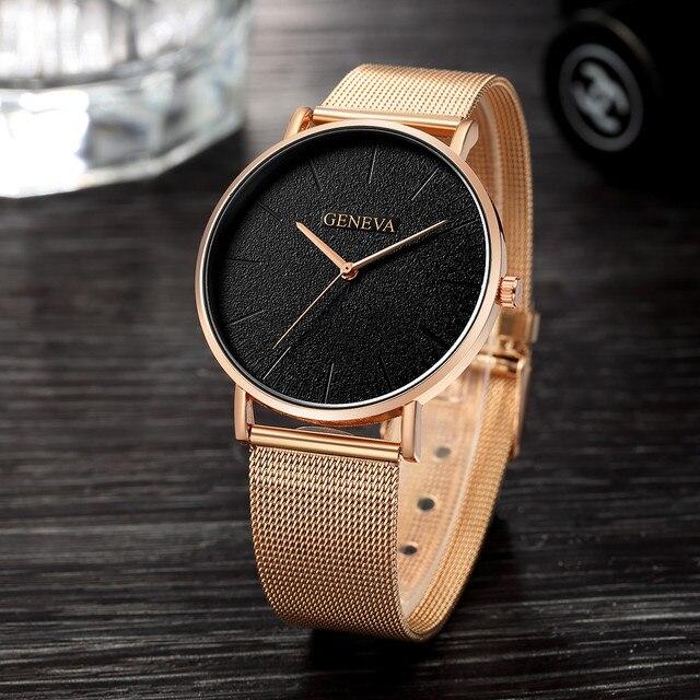 Women Watches Bayan Kol Saati Fashion Rose Gold Silver Ladies Watch For Women reloj mujer saat relogio zegarek damski часы женск 1