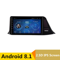 9 2.5D IPS Android 8.1 Car DVD Multimedia Player GPS For Toyota C HR C HR CHR 2016 2017 2018 audio radio stereo navigation