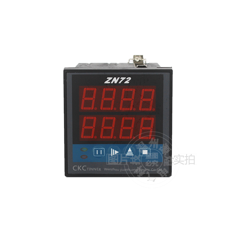 цена на ZN72 1-9999 Panel Mount Count Up Down Digital Counter Relay AC 220V 380V DC12V 24V Reversible Accumulator Counter