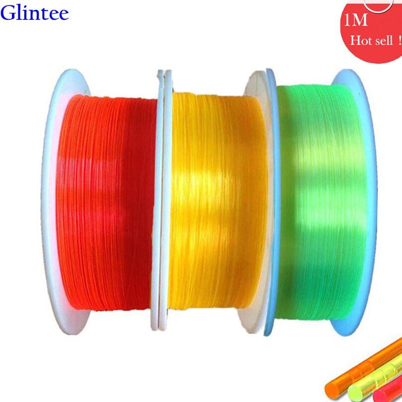 1M Optical Fibre Optic Cable 0.75/1.0/1.5/2.0/3.0mm Fluorescence Ultra Flex neno Optical ...
