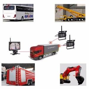 "Image 5 - Podofo אלחוטי מבט אחורי היפוך מצלמה & IR ראיית לילה 7 ""רכב צג ערכת עבור משאית אוטובוס קרוון קרוואן הפוך מערכת"