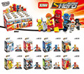 Super Heroes The Avengers Edad de Ultron Flash Ray Velocidad DC XINH 067-074 Juegos de Bloques de Construcción Juguetes