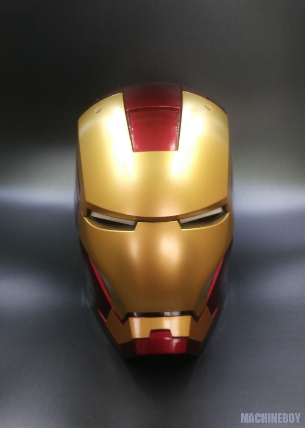 1:1 Wearable Iron Man MK7 Helmet With Motorized Face Plate Collectible Toys Marvel Gifts
