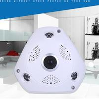 Omiky 360 Degree Panoramic Wireless Home Surveillance IP Camera Audio Video WiFi JA08 Drop Shipping