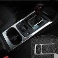 Central de carro Suporte de Copo Quadro Guarnição Decoração Adesivo Cobrir Caso Para Subaru Legacy Outback 2015 2016 car styling acessórios auto