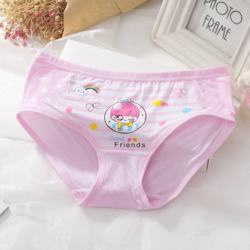 db97761b4 2pcs lot Baby Girls Cartoon Panties Underwear Calcinha Infantil Modal Kids  Panty Short Pants Children Briefs Comfy Underpants-in Panties from Mother    Kids ...