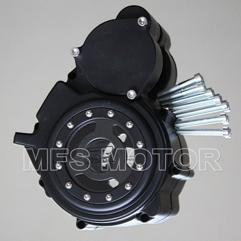 Motorcycle Part  Left Billet Engine Stator cover see through For Suzuki GSXR 600 750 2006 2007 2008 2009 2010 2011 2012 2013