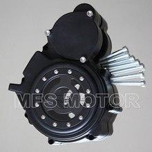 Часть мотоцикла Левый Заготовка Двигателя Статора обложка see through Для Suzuki GSXR 600 750 2006 2007 2008 2009 2010 2011 2012 2013