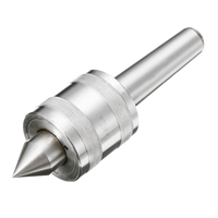 Durable Morse Taper MT3 Lathe Live Turning Revolving Center Triple Bearing Design