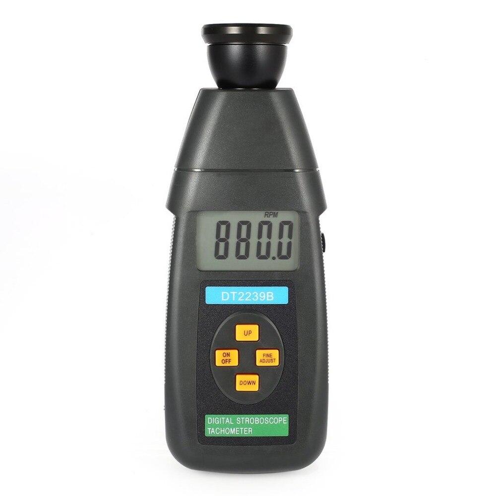 DT2240B цифровой ЖК-дисплей Бесконтактный Flash стробоскоп Тахометр фотоэлектрический Метр революция Спидометр тестер 60 ~ 19999 об./мин.