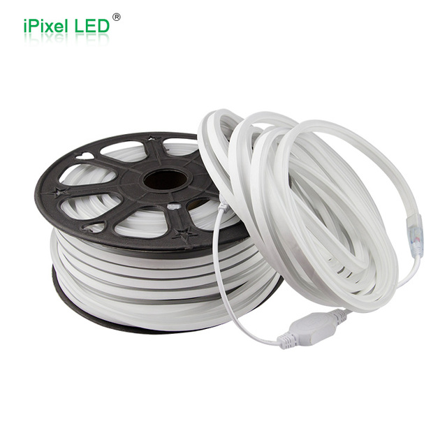 Mini Size LED Rope Light 50m Roll Cuttable Per Meter White CCT 6500K High  Voltage