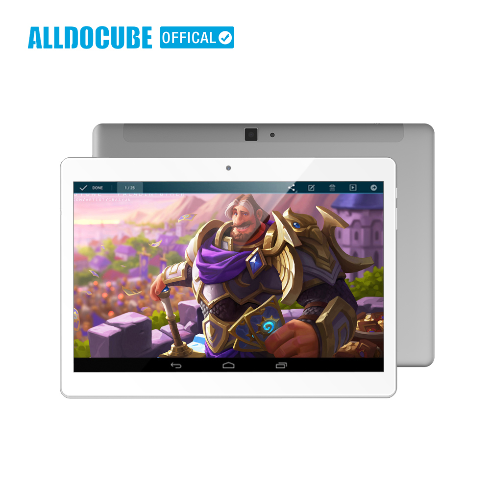 ALLDOCUBE 10.1 pollice 2560*1600 IPS 4g di Chiamata di Telefono Tablet PC Android 8.0 di MTK X20 Deca core 4 gb di RAM 64 gb ROM GPS WIFI Phablet M5