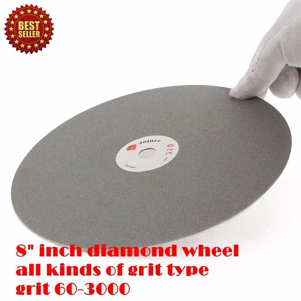 8 colių 200 mm švitrinis 60-3000 nerūdijančio plieno deimantų - Abrazyviniai įrankiai - Nuotrauka 6