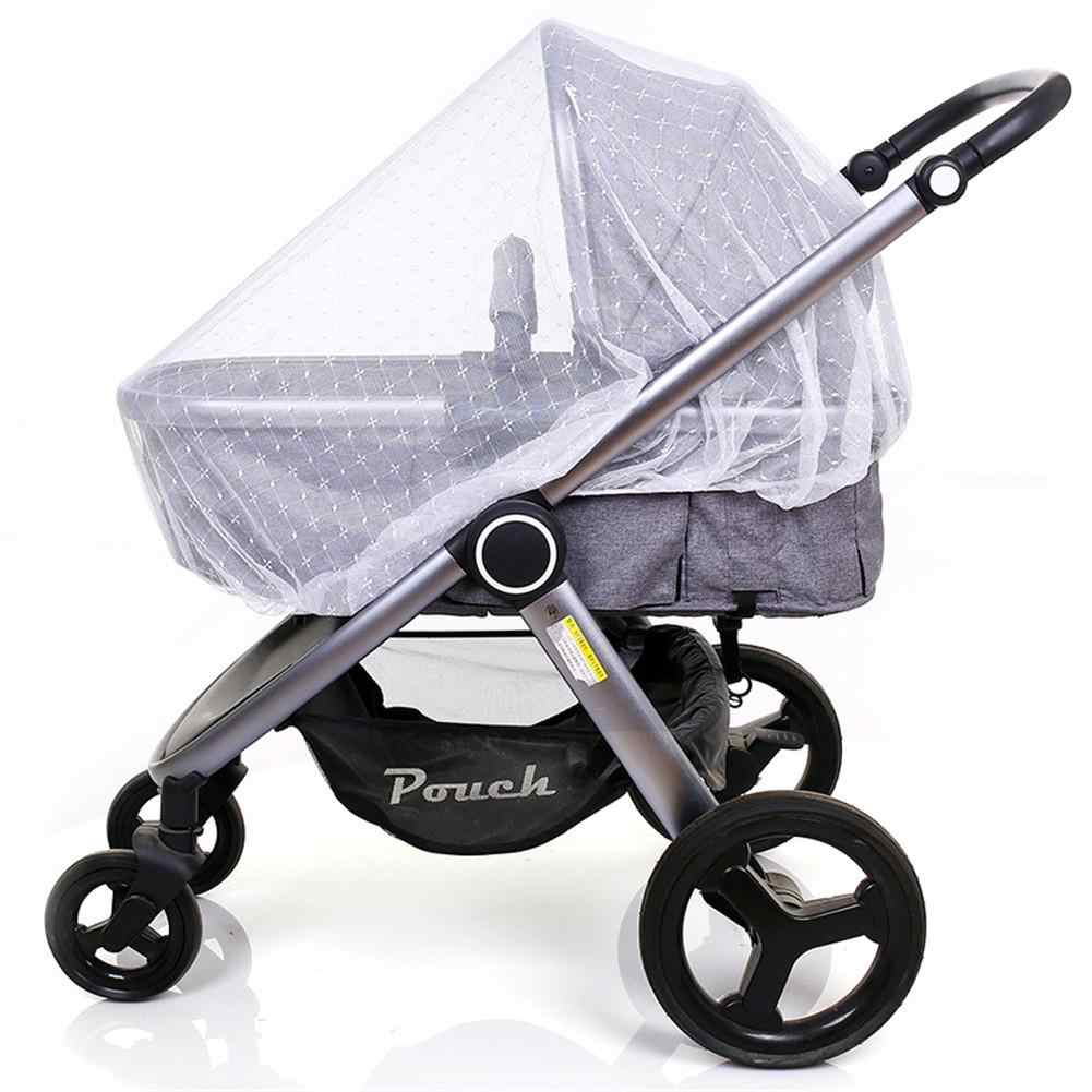 Embroidery New Arrival Baby Stroller Mosquito Net Universal All-cover Foldable Mosquito Net Dense Baby's Mosquito Net