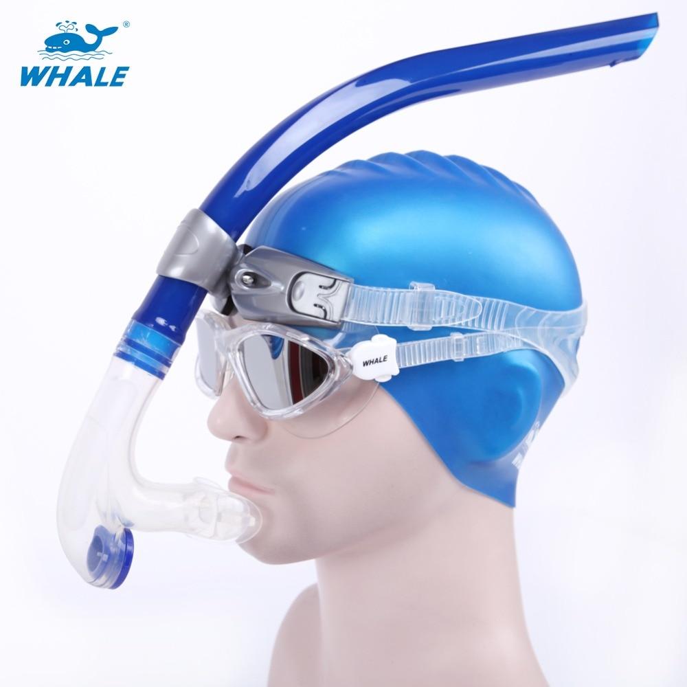 Fsnorkeling equipment diving mask snorkel set professional ...
