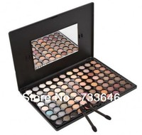 Free Shiping Hot Sale New Makeup Warm Pro 88 Full Color Eyeshadow Palette Makeup Set