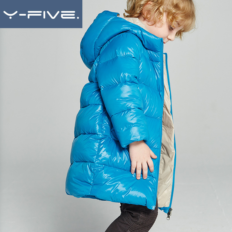 kids down jacket hooded 2018 winter warm parka for girls boys coats 90% down jackets children's clothing snow outwear clothes