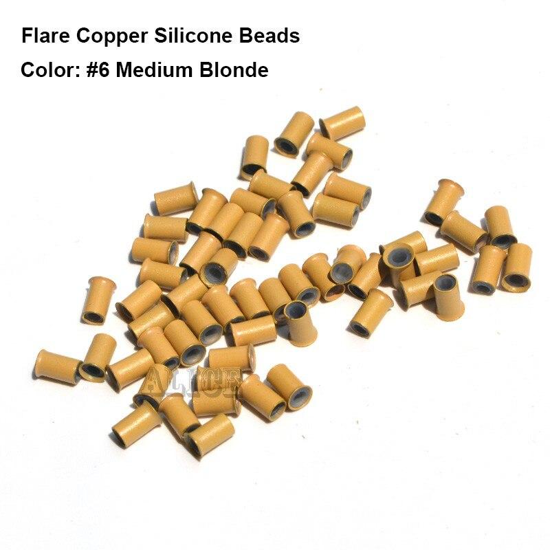 metal dreadlock dread manguito esferas de silicone para o cabelo extensões