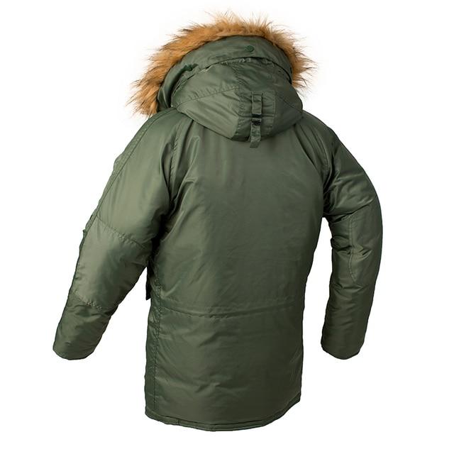 2020 Winter N3B puffer men long Куртка аляска coat military fur hood warm tactical bomber army korean thick parka 2