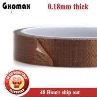 GXPMAX 4X 33 FT Brown PTFE Teflon Adhesive Tape High temperature tape 0.18mm*100mm*10M