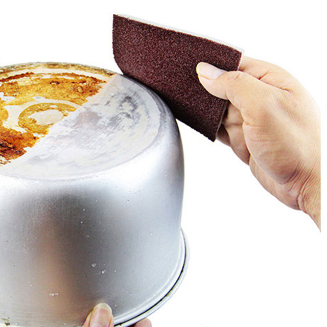 Magiczna gąbka do czyszczenia karborund narzędzia gospodarstwa domowego gumka naczynia kuchenne łazienka akcesoria danie Nano Emery gąbka