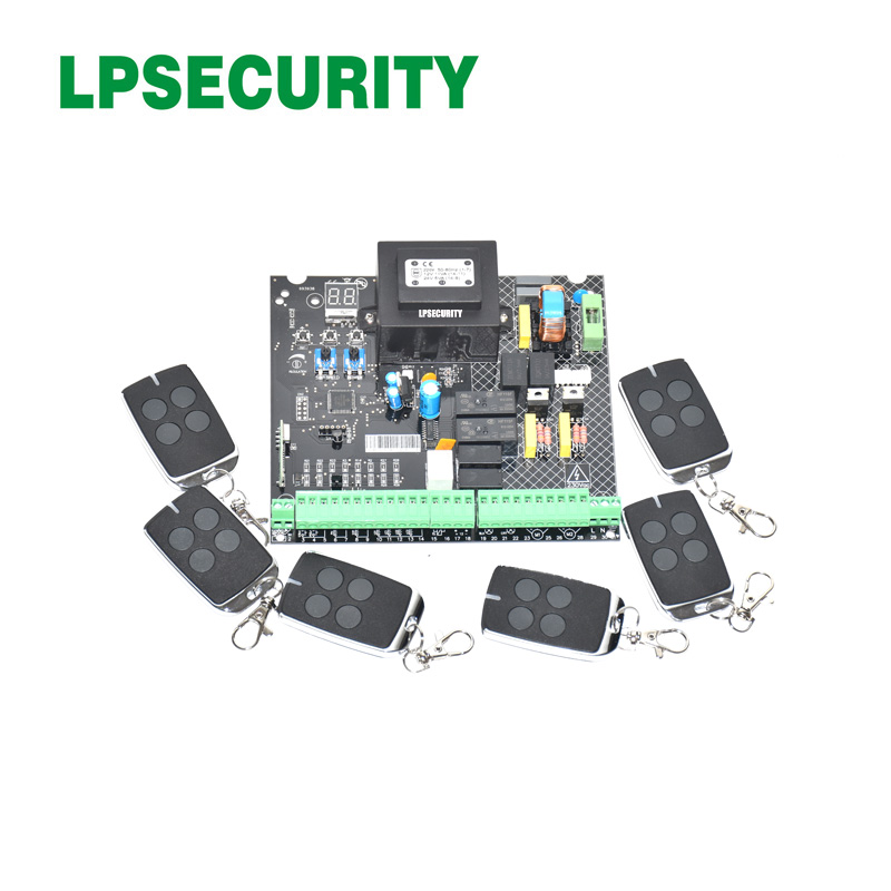 220VAC automatic swing gate opener AC motor control unit PCB controller circuit board electronic card