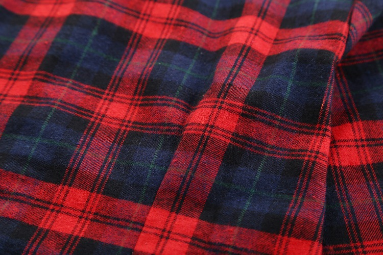 2018 Fashion Plaid Shirt Female College Style Women's Blouses Long Sleeve Flannel Shirt Plus Size Casual Blouses Shirts M-5XL 48