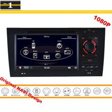 For Audi A6 / S6 / RS6 1998~2006 – Car GPS Navigation Stereo Radio CD DVD Player 1080P HD Screen Original Design System