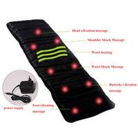 1PCS Free China Post Vibrating Massage Mattress Massage Chair Cushion With 9PCS Vibrating Motors Far Infrared
