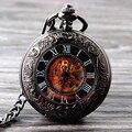 2015 New Cool Ручной Ветер Механические Карманные Часы Скелет Часы Моды для Мужчин Часы Старинные Карманные Часы