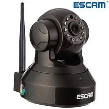 HOT CCTV Plug Play P2P Wireless Wi-Fi Pan Tilt IR Cut Two Way Audio Micro SD Card Slot 1280*720P HD IP CAMERA ESCAM PEARL QF100