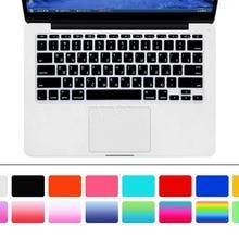11 дюймов русская буква Силиконовая Клавиатура США Защитная пленка для Apple MacBook Air 11,6 дюймов