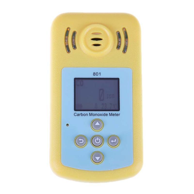 KXL-801 High Sensitive LCD Digital CO Gas Alarm Detector 0~2000PPM Carbon Monoxide Measurement Alarm Gas Analyzer handheld gas detector alarm portable oxygen detector co concentration carbon monoxide monitor 0 999 ppm co gas analyzer meter