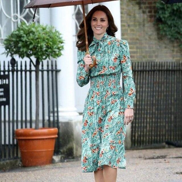Green Knee Length Formal Dresses for Women