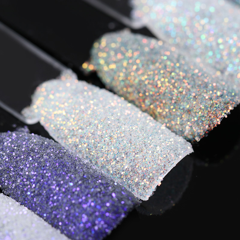BORN PRETTY Magic Shell Nail Glitter 1.5g Shining Ultra-thin Powder Manicure Nail Art Dust Decoration