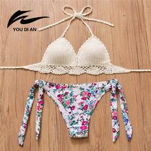 3b1181e5021f Bikini Set Crochet Swimsuit Handmade - Compra lotes baratos de ...