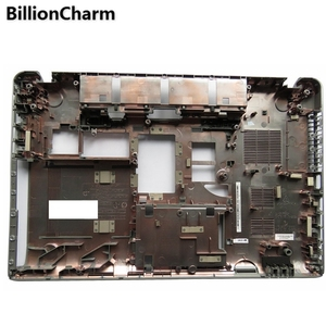 Image 5 - بليلونشارمن جديد Palmrest غطاء/أسفل الحال بالنسبة توشيبا P850 P855 الفضة قاعدة الكمبيوتر المحمول أسفل الغطاء