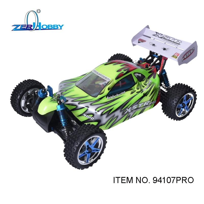 HSP Гонки XSTR PRO 94107PRO дистанционного управления автомобилем игрушки 1/10 с электрическим приводом безщеточный бездорожью РТР багги