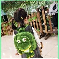 Plush Backpacks Kids Baby Bags Cute Animals Dinosaur Doll Toy Shoulder Bag for Kindergarten Boys Schoolbag Children's Backpack
