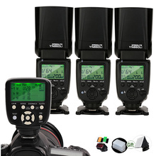 Yongnuo Speedlite + YN560 TX Al Litio YN860Li II Trigger Remote Controller 2.4G Wireless GN60 DSLR Camera Flash per Canon Nikon