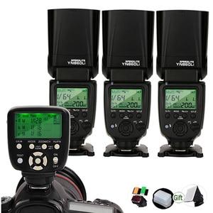 Image 1 - Yongnuo Speedlite + YN560 TX Al Litio YN860Li II Trigger Remote Controller 2.4G Wireless GN60 DSLR Camera Flash per Canon Nikon