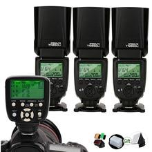 Yongnuo YN860Li Lityum Speedlite + YN560 TX II Tetik Uzaktan Kumanda 2.4G Kablosuz GN60 DSLR kamera flaşı Canon Nikon için