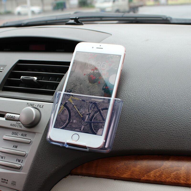 Sticker For Range Rover Sport Transparent Promotion Tpu: Multifunctional Car Phone Holder Charge Box Holder For