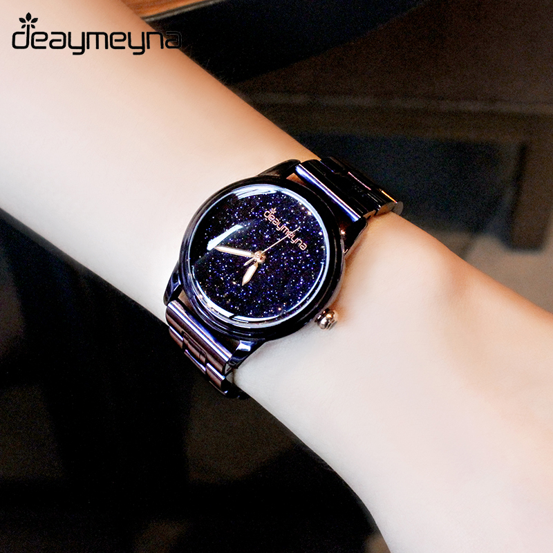 Deaymeyna Luxury Women Watches Ladies Watch Fashion Dress Quartz Wrist Watch For Ladies Girls Women Gifts Present Dropshipping mjartoria women bracelet watch set bangles crystal jewelry steel watch quartz wrist dress ladies watches for best gifts decor