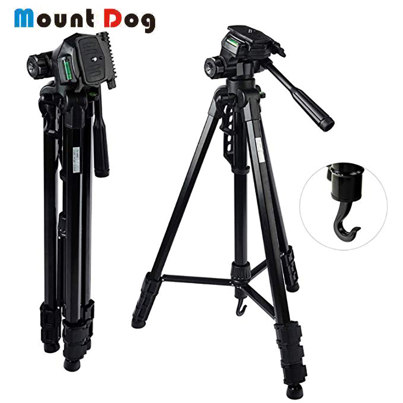 MountDog Professional Dslr Camera tripod 70 Stand Light Weight Adjustable for Video Canon Traveling Monopod Carrying