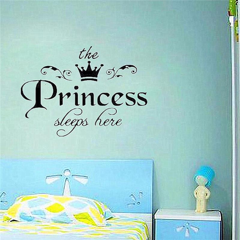 HTB1D5RqKpXXXXXJaXXXq6xXFXXX2 - New Arrival DIY Removable Princess Sleeps Wall Stickers For Kids Rooms