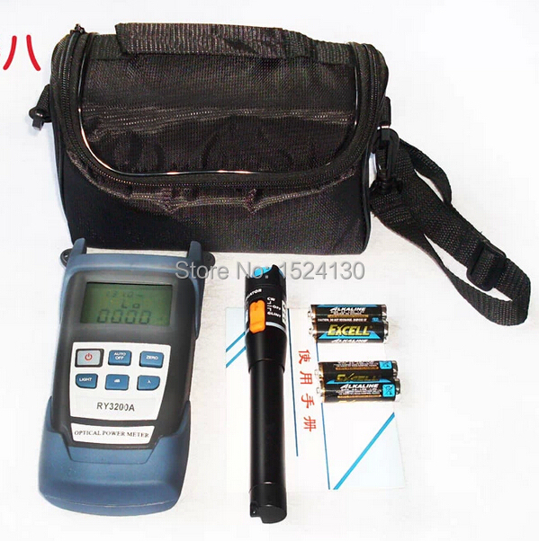 Fiber Optic Cable Tester with RY3200A Optical Power Meter and 10mW Visual Fault LocatorFiber Optic Cable Tester with RY3200A Optical Power Meter and 10mW Visual Fault Locator