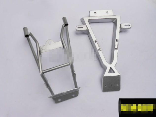 STARPAD For X2moto- buggy CQR aluminum license plate bracket aluminum tail taillight bracket a silver frame starpad for motocross accessories before x2 buggy masonry cabbage modified front fenders cqr cqr masons