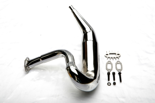 1/5 Baja Tune Pipe Exhaust Upgrade tunepipe for 1/5 scale HPI KM RC CAR Baja 5B 5t 5sc for 23cc 26cc 29cc 30.5cc engine - 85037 tuned pipe muffler silenced for 1 5 scale hpi km rovan baja 5b 5t free shipping
